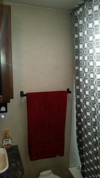 Towel Bars Before