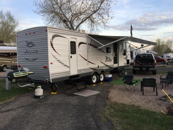 First camping trip of 2016 Boyd lake state park, Loveland CO