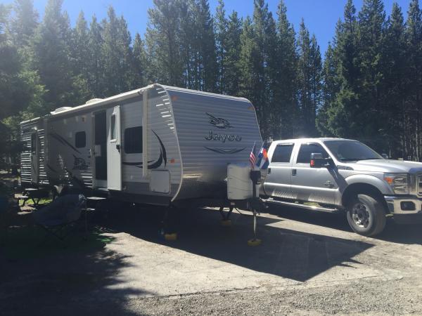 Fishing Bridge Campground Yellowstone 2016