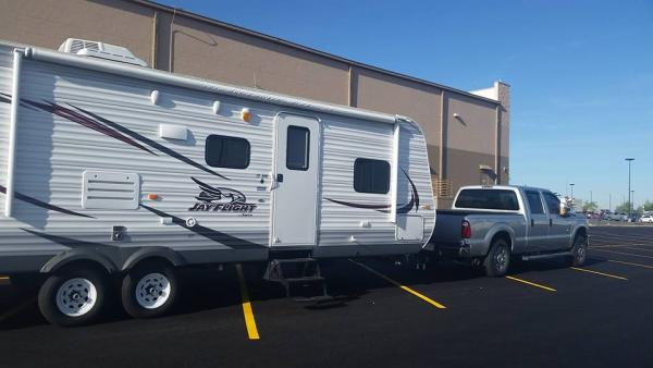 Casper Wyoming Walmart Camping June 2016 on or way to Yellowstone