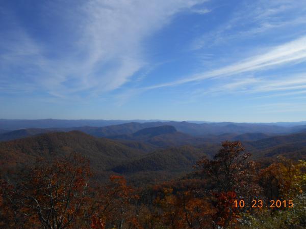North Georgia fall 2015