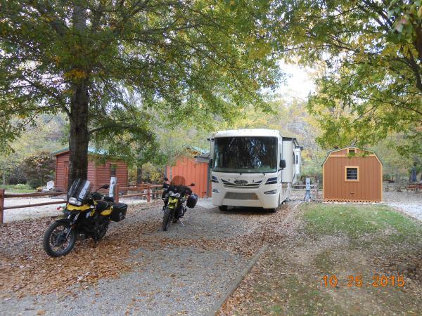 Choestoe Falls RV Park, October 2015