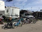 Keep yer bikes away from my Jayco!  ;)