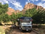 Watchman Campground, Loop B