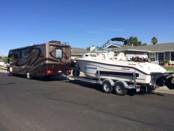 first boat tow