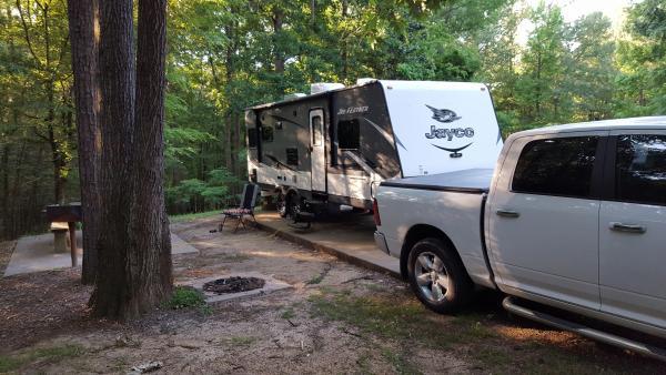 Natchez State Park Site 46