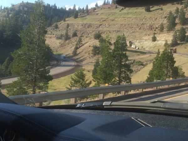 Great place in Oregon to check Power and Exhaust  Brake  gorgeous  Scenary  I 5