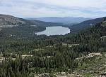 Overlooking Donner Lake from the Truckee train tunnels
