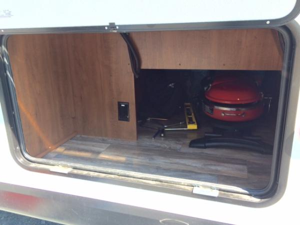 Place for Chill n Stor refrigerator, which we opted not to order for $210. We added our own for $90.