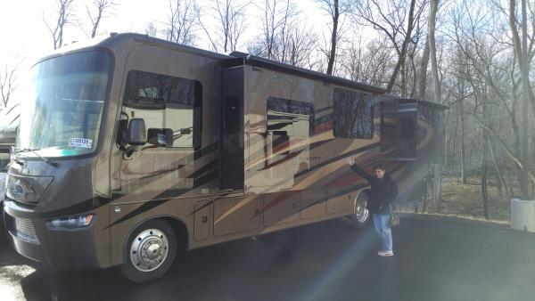 At RV ONE in Albany. Picking up on Friday