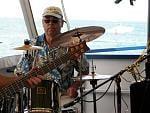 Jamming on Lake St. Clair cruise (Michigan)
