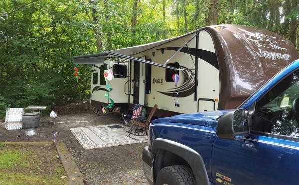 Camping trip to Beachwood RV resort. WA