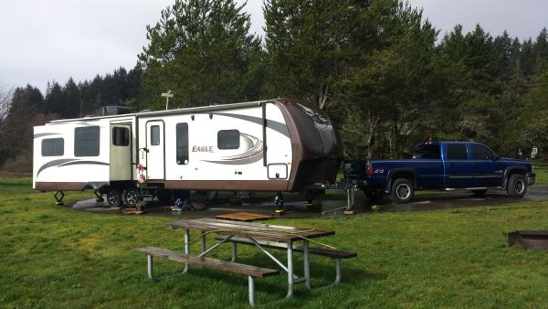 Camping @ Belfair State Park, WA