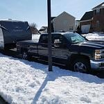 Though the 1500 would do it, nothing like a Duramax diesel.