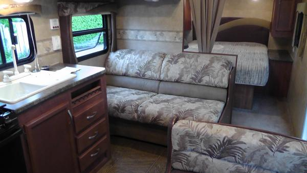 Such a roomy trailer with no slide outs