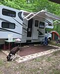 Camp Charles Bangor PA boondocking
