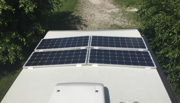 400w of Renogy panels on 23RB