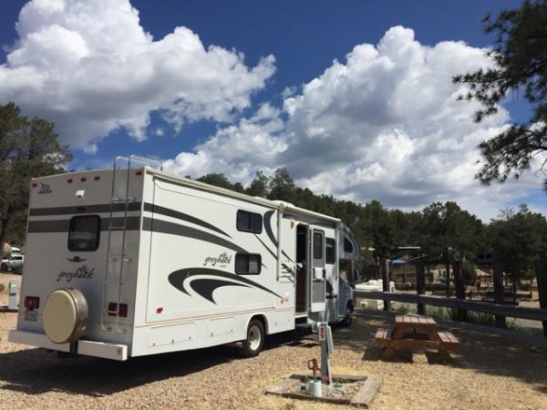 Harvey the RV in Ruidoso NM