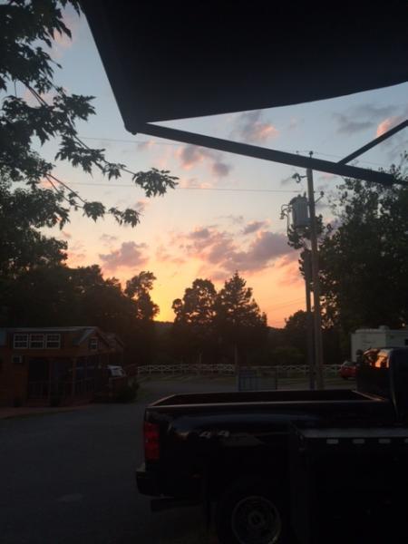 2016-Branson sunset