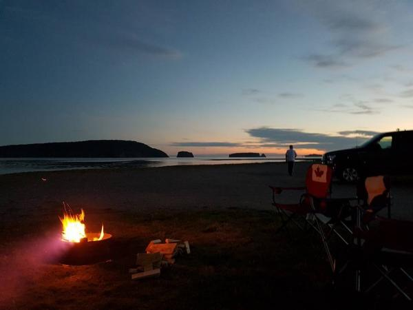 Five Islands RV park in Five Islands Nova Scotia.
