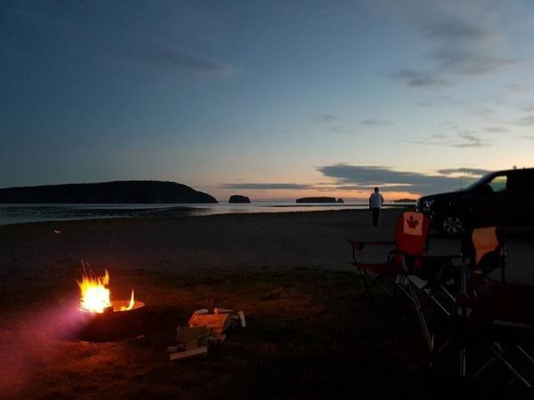 Five Islands RV park in Five Islands Nova Scotia.