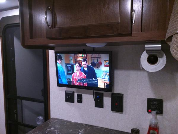 television installed